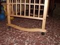 детская деревянная кроватка б/у