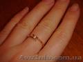 Продам золотое кольцо с бриллиантом