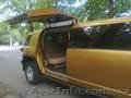 Золотой Лимузин класса Хаммер.Toyota FJ-Cruiser аренда авто на свадьбу - Изображение #2, Объявление #747832