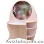 Дамский столик Вальтер Розовый
