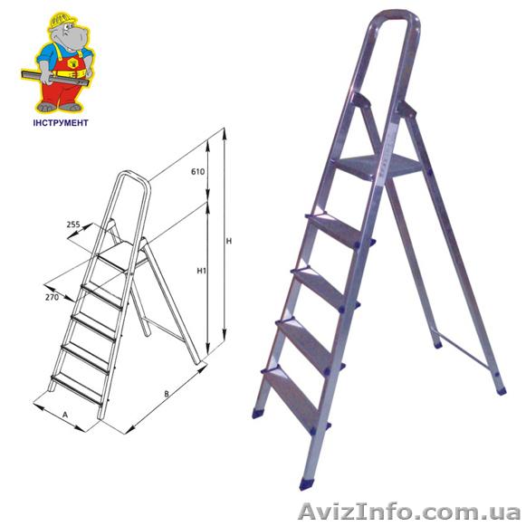 Лестница стремянка из профильной трубы чертежи