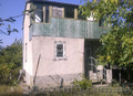 Дачный участок с двухэтажным домом и гаражом подним. Ёмкость 8  м. куб.
