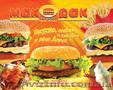 Обертки для сэндвичей и бургеров   Подложки на подносы