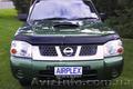 мухобойка (аирдефлектор капота) Nissan Navara / Frontier (D22) с 2002 г.в. - Изображение #2, Объявление #1009042