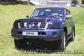 мухобойка (аирдефлектор капота) Nissan Patrol (Y61) после 2005 г.в., Объявление #1009035